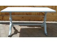 Sold Wood Coffee Table - Grey - Excellent Condition