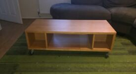 wood coffee table (collection only)