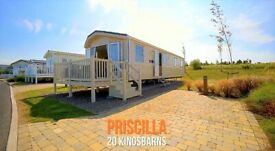 😎☀️😎 NOVEMBER break-away @Seton Sands!! Lovely 8-berth static caravan, stunning views, rent / hire