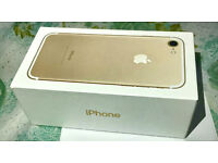 Iphone 7 128 GB - GOLD- Factory Unlocked --LIKE NEW TESTED FOR A DAY--