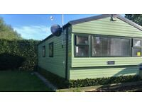 5 BERTH STATIC CARAVAN FOR SALE – SITE FEES PAID TILL FEBRUARY 2022