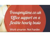 Administration and bookkeeping services on an hourly basis