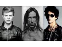 VOCALIST (IGGY POP/LOU REED BOWIE) URGENTLY WANTED FOR ALBUM & TOUR