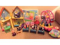 Large Peppa Pig toy bundle cost over £75 new