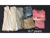 Girls 6-7 Bundle of clothes