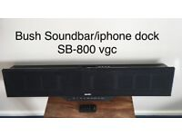 Bush soundbar/iphone dock