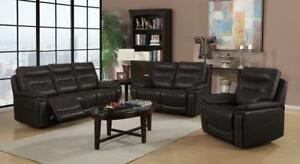 Air-leather Power Recliner Sofa Set-3pc at Fantastic Deal (GL1111)