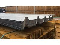 Galvanised Box Profile Roof Sheets ~ New 🔩