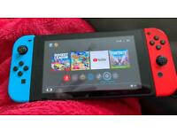 Nintendo Switch with Games UNPATCHED