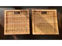 IKEA Branas Rattan Basket x 2 - good condition