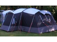 Sprayway 6 Man Tent with additional camping equipment