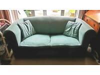 Metal framed sofa bed for sale