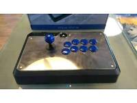 Ps4 ps3 venom arcade stick fightstick modded with sanwa