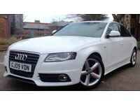 BEAUTIFUL AUDI A4 2.0 TDI S-line 12 MONTh MOT LOW MILEAGE NOT A6 BMW 3 1 SERIES MERCEDES C CLASS AMG