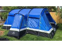 Hi Gear Premium Frontier 6 man tent - Massive Family Tent, Like New.