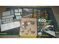 STAR WARS STAR WARRIORS 1987 CLASSIC GAME OF SPACE FIGHTER COMBAT
