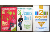 Rosemary Conley's Slimmimng/Diet books