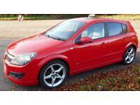Vauxhall Astra SRI PLUS CDTI (red) 2006