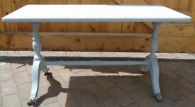 Solid Wood Coffee Table - Grey - Excellent Condition