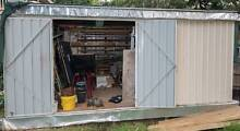 SHED WORKSHOP DBL 4.5mx3mx2.06m CLASSIC CREAM Chatswood Willoughby Area Preview
