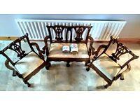 FOR SALE-Quirky, Unique, Vintage, Antique Set of Miniature Furniture & Annie Sloan paint&wax