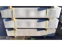 🍁 CONCRETE PLAIN FENCING BASE PANELS/ GRAVEL BOARDS > NEW