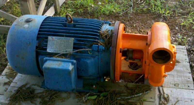New Berkley electric irrigation pump