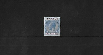 CYPRUS SG92, 2pi SCRIPT 'CA' LIGHTLY MOUNTED MINT, CAT £32