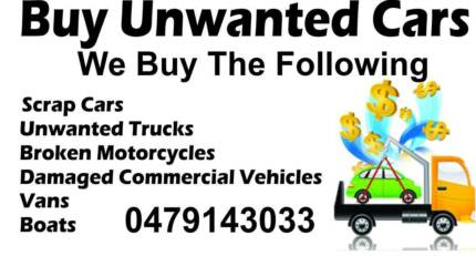 """CASH FOR ALL UNWANTED CARS"" Penrith Penrith Area Preview"