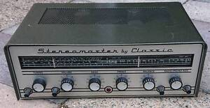 Vintage Stereo Master by Classic Valve Stereo Receiver/Amplifier Wareemba Canada Bay Area Preview
