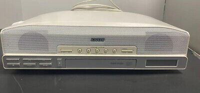 Sony ICF CD523 Under Cabinet Counter Clock Radio AM/FM CD player  Tested Works!