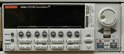 Keithley 2636a Sourcemeter 200v 1fa 1uv 2 Ch. 10a Pulse