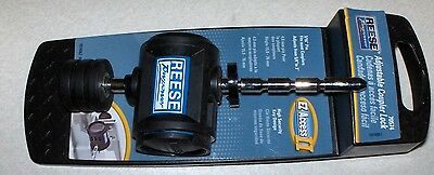 ***NEW*** REESE 70574 TOWPOWER ADJUSTABLE COUPLER HITCH LOCK WITH (2) KEYS