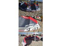 Kitesurf Kite Flexifoil Firestorm 12m 4 Line
