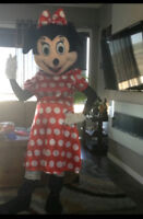 MINNIE MOUSE RED MASCOT $40/24 hr rental