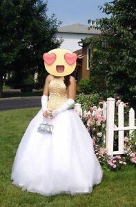 Robe de bal de princesse prix négociable