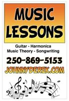 Songwriting & Music Lessons
