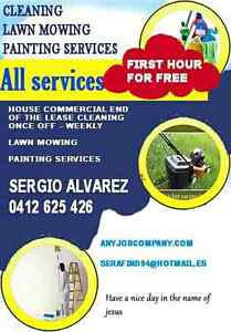 Cleaning, Lawn mowing, Painting Services. First hour free. Jacana Hume Area Preview