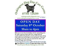 Oakington Dog Day Care Centre * Open Day Sat 8th Oct * 10am-4pm * Come to look around with your dog
