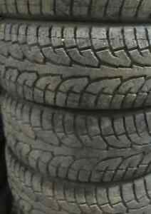 Used Tires. P255+65+18 INCH $500/4 TIRES (((75-90%TREAD)))