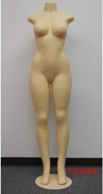 Female Brazilian Style Mannequin Full Bodyheadlessno Arms Metal Base