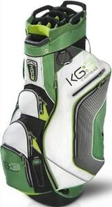 2013 Sun Mountain Golf Men's KG3 Cart Bag Colors Black/White/Lime Brand New