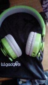 Lil Gadgets Bluetooth Headphones - As NEW