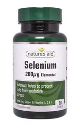 Selenium 200mg natures aid