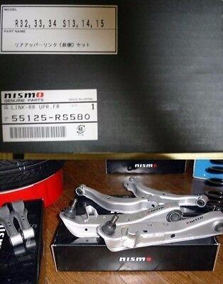 JDM OEM NISMO GT-R GTR R32 BNR32 S13 S14 S15 Upper Link Upper Arm Rear Front SET