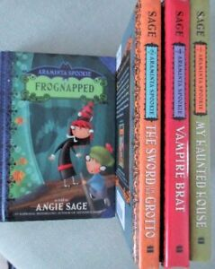 ~ARAMINTA SPOOKIE ~Books 1 to 4 as told by Angie Sage
