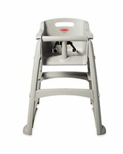 BNIB commercial heavy duty rubbermaid high chair