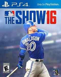 MLB The Show 16 PS4 Used once!