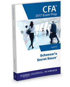 2017 CFA Level 3 secret sauce