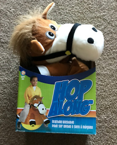 Plush Hedstrom Pony Hopper Ball